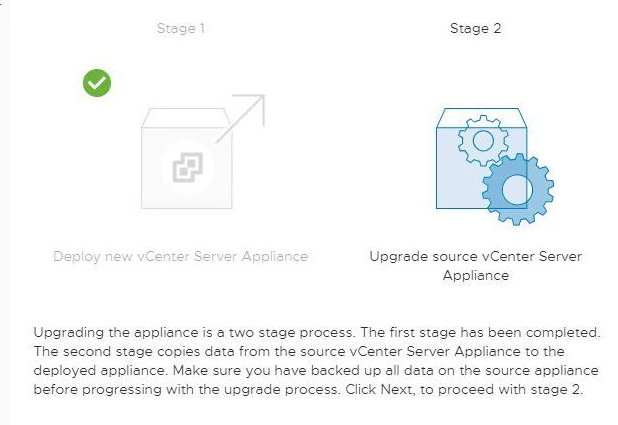 Upgrade vCenter Server Appliance 6.0.x to 6.7 U3