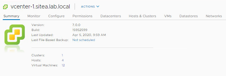 Step by Step guide to upgrade distributed vCenter 6.7 to vCenter7.0